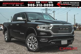 New 2021 RAM 1500 Limited Longhorn 10th Ann | HUD | Adv Safety | for sale in Hamilton, ON