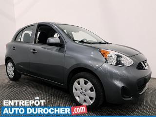 Used 2017 Nissan Micra ÉCONOMIQUE - MANUELLE - CLIMATISEUR for sale in Laval, QC