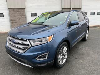 Used 2018 Ford Edge Titanium AWD with Moonroof & Nav for sale in Kentville, NS