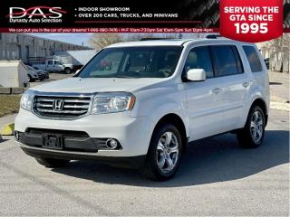 Used 2013 Honda Pilot EX-L LEATHER/SUNROOF/REAR CAMERA/8 PASS for sale in North York, ON