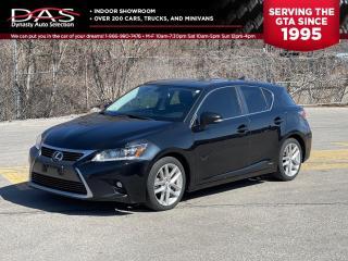 Used 2014 Lexus CT 200h PREM HYBRID NAVIGATION/REAR CAMERA for sale in North York, ON