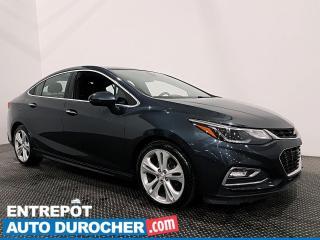 Used 2017 Chevrolet Cruze Premier - CUIR - NAVIGATION - CLIMATISEUR for sale in Laval, QC