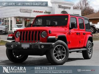 Used 2021 Jeep Wrangler Unlimited Sport Demonstrator for sale in Niagara Falls, ON
