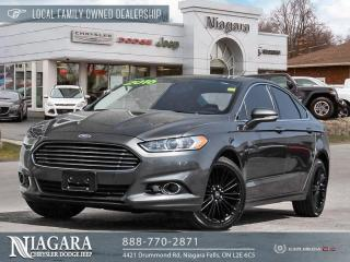 Used 2016 Ford Fusion SE for sale in Niagara Falls, ON