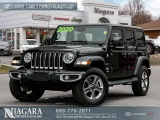 Used 2020 Jeep Wrangler Unl Sahara | LEATHER for sale in Niagara Falls, ON