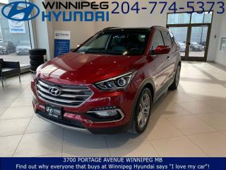 Used 2017 Hyundai Santa Fe Sport Limited for sale in Winnipeg, MB