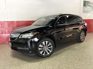Used 2015 Acura MDX SH-AWD TECH PKG NAVI BLINDSPOT DVD REAR CAMERA XENON's for sale in North York, ON