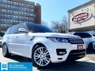 Used 2016 Land Rover Range Rover Sport HSE | 7 PASS | DIESEL | NAVI  | PANO | FACT DVD | CAM | for sale in Scarborough, ON