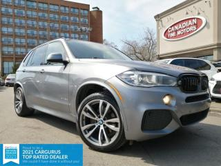 Used 2018 BMW X5 CLEAN CARFAX | M SPORTS PKG |DIESEL | NAVI | CAM | PANO | for sale in Scarborough, ON
