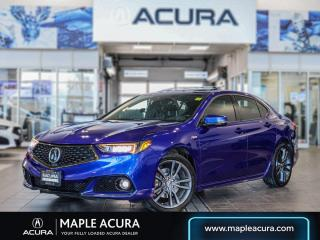 Used 2018 Acura TLX Tech A-Spec, 1.99% up to 84 months financing for sale in Maple, ON