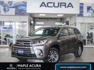 Used 2018 Toyota Highlander XLE for sale in Maple, ON