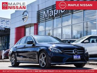 Used 2018 Mercedes-Benz C-Class Navi Blind Spot Bluetooth Moonroof 360 View Camera for sale in Maple, ON
