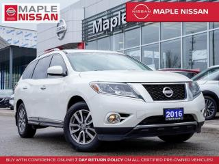 Used 2016 Nissan Pathfinder SL AWD Blind Spot Backup Camera Bluetooth 7 Seater for sale in Maple, ON