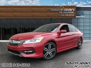 Used 2017 Honda Accord 4dr I4 CVT Sport for sale in Saint-Jean-sur-Richelieu, QC