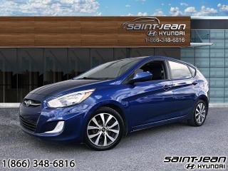 Used 2015 Hyundai Accent SE // MAGS + BLUETOOTH + CAM RECUL for sale in Saint-Jean-sur-Richelieu, QC