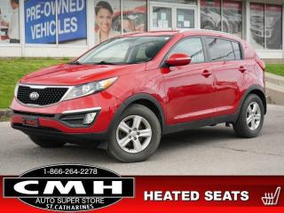 Used 2015 Kia Sportage LX  BLUETOOTH HTD-SEATS S/W-AUDIO 16-AL for sale in St. Catharines, ON
