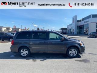 Used 2017 Dodge Grand Caravan Crew Plus  - Leather Seats - $122 B/W for sale in Ottawa, ON