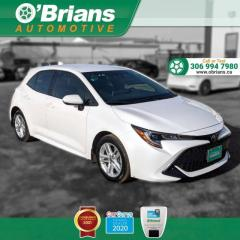 Used 2019 Toyota Corolla Hatchback SE - Accident Free! w/Adaptive Cruise, Lane Depart Warning, Back for sale in Saskatoon, SK
