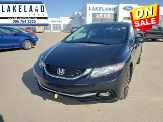 Used 2014 Honda Civic Sedan TOURING  - Navigation -  Sunroof - $130 B/W for sale in Prince Albert, SK