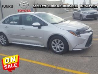 Used 2021 Toyota Corolla LE CVT  Qualifies for New Toyota Financial Rates & Programs for sale in Steinbach, MB