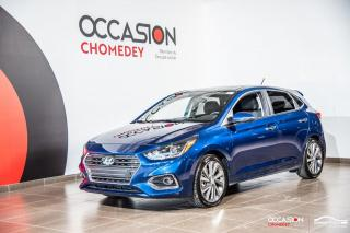 Used 2020 Hyundai Accent ULTIMATE+TOIT+APPLE CARPLAY+VOLANT CHAUFFANTS for sale in Laval, QC