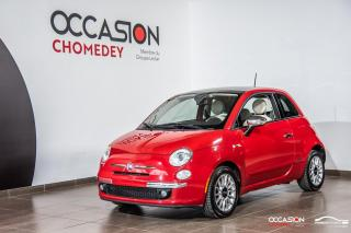 Used 2012 Fiat 500 LOUNGE+CUIR+TOIT OUVRANT+A/C+MAGS for sale in Laval, QC