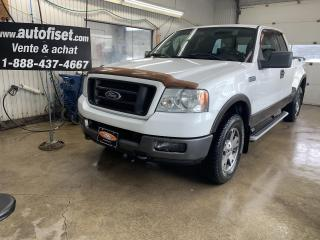 Used 2005 Ford F-150 Supercab Flareside 145  FX4 4WD for sale in St-Raymond, QC