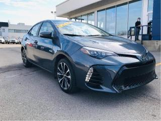 Used 2017 Toyota Corolla 4dr Sdn CVTSE,toit,camera de recul,siege chauffant for sale in Lévis, QC