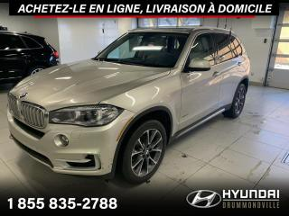 Used 2014 BMW X5 X-DRIVE 35i + GARANTIE + NAVI + TOIT + W for sale in Drummondville, QC