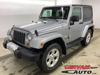 Used 2013 Jeep Wrangler Sahara GPS 4x4 MAGS / 2 Toits / for sale in Trois-Rivières, QC