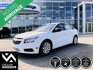Used 2011 Chevrolet Cruze LS+ w/1SB ** CLIMATISEUR ** Confortable et spacieux! for sale in Shawinigan, QC