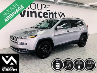 Used 2016 Jeep Cherokee LIMITED 4X4 ** GARANTIE 10 ANS ** Version luxueuse! for sale in Shawinigan, QC