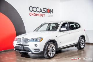 Used 2017 BMW X3 XDrive28i+CUIR CHAUFFANT+CAMERA DE RECUL+TOIT for sale in Laval, QC
