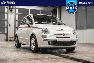 Used 2013 Fiat 500 Lounge convertible chez Rimouski Hyundai for sale in Rimouski, QC