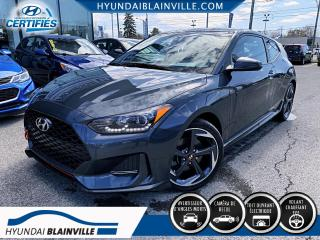 Used 2019 Hyundai Veloster TURBO, NAVIGATION, TOIT PANORAMIQUE, CUI for sale in Blainville, QC