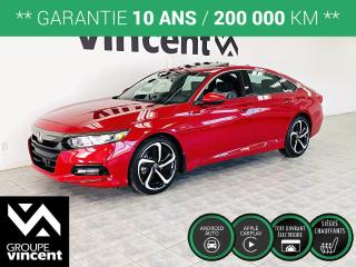 Used 2020 Honda Accord SPORT ** GARANTIE 10 ANS ** Liquidation des derniers 2020! for sale in Shawinigan, QC
