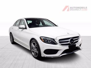 Used 2017 Mercedes-Benz C-Class C300 4Matic Cuir Toit Pano GPS Sièges Chauffants for sale in St-Hubert, QC