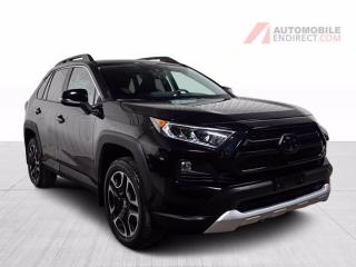 Used 2020 Toyota RAV4 Trail AWD A/C Mags Cuir Toit Sièges Chauffants for sale in St-Hubert, QC