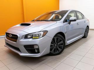 Used 2017 Subaru WRX SPORT AWD SIÈGES CHAUFF CAMÉRA ALERTES *TOIT* for sale in St-Jérôme, QC