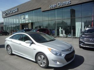 Used 2015 Hyundai Sonata Hybrid MODÈLE LIMITED TOIT OUVRANT SIÈGE CHAUFF for sale in Alma, QC