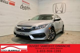 Used 2017 Honda Civic EX 4 portes CVT for sale in Blainville, QC
