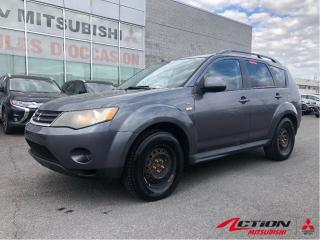 Used 2009 Mitsubishi Outlander LS+V6+AIR CLIM+BLUETOOTH+AUTOMATIQUE+7 PASSAGERS for sale in St-Hubert, QC