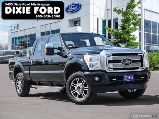 Used 2016 Ford F-250 SD Platinum for sale in Mississauga, ON
