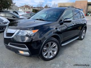 Used 2012 Acura MDX Tech Pkg, awd for sale in Drummondville, QC