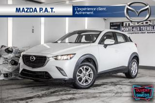Used 2018 Mazda CX-3 GS AWD,CAMÉRA DE RECUL,BLUETOOTH,SIEGES CHAUFFANTS for sale in Montréal, QC