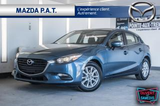 Used 2018 Mazda MAZDA3 Sport GS,AUTOMATIQUE,CAMÉRA DE RECUL,BLUETOOTH,BAS KM for sale in Montréal, QC