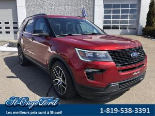 Used 2018 Ford Explorer Sport, AWD for sale in Shawinigan, QC