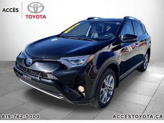 Used 2018 Toyota RAV4 AWD LIMITED for sale in Rouyn-Noranda, QC