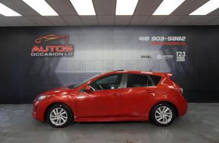 Used 2012 Mazda MAZDA3 SPORT GS-SKY MANUEL + TOIT OUVRANT MAGS 127 068 KM for sale in Lévis, QC