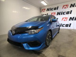 Used 2017 Toyota Corolla iM BASE COMME NEUVE! for sale in La Sarre, QC